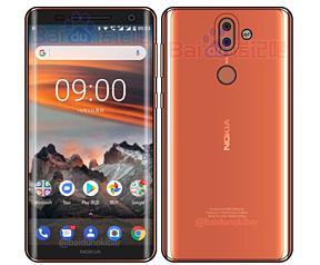 Nokia 9 voorkant