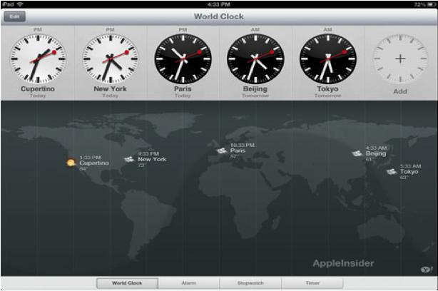 klok iPad