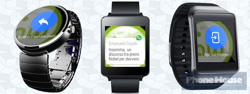 screenshots whatsapp op je smartwatch