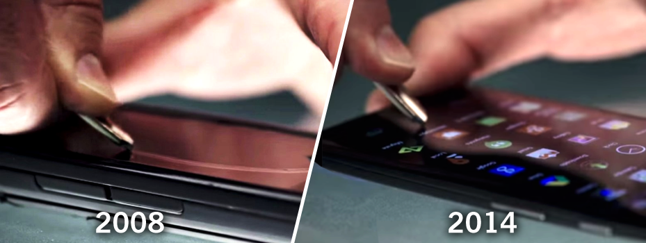 touch screen keying
