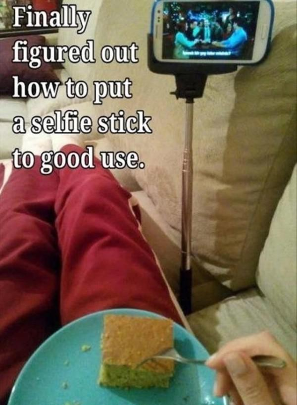selfie stick tv