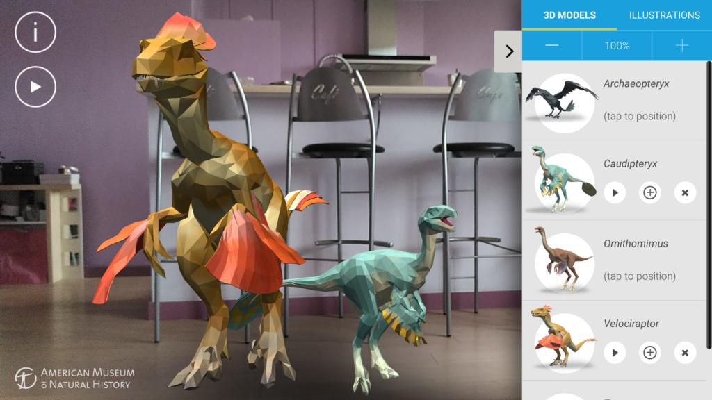 Dinosaurs Among Us zet de dino's in je woonkamer