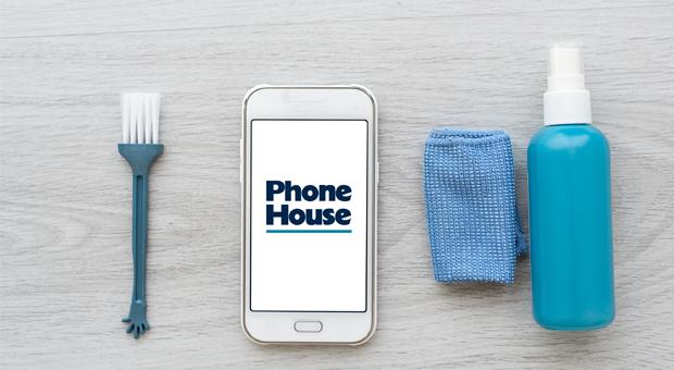 smartphone schoonmaken