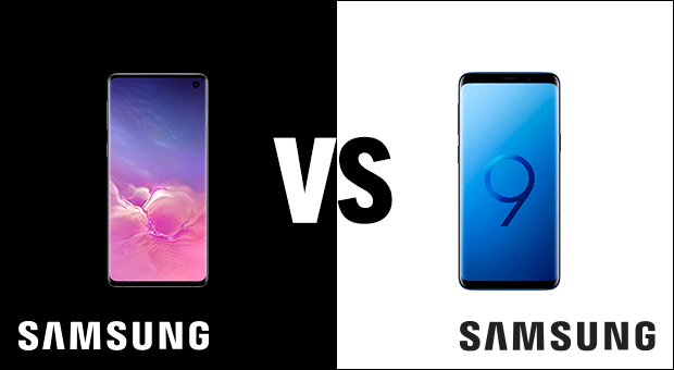 Samsung Galaxy S10 vs Samsung Galaxy S9