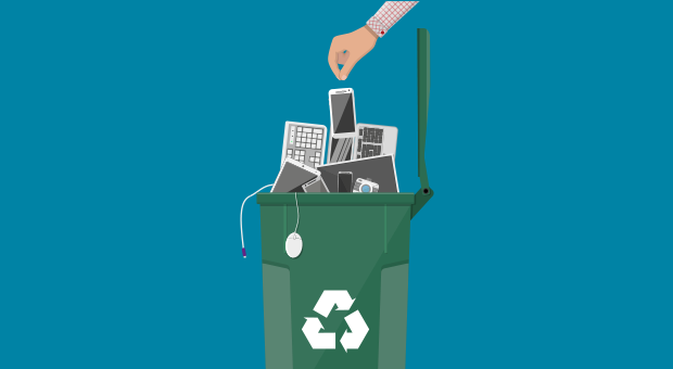 je telefoon recyclen