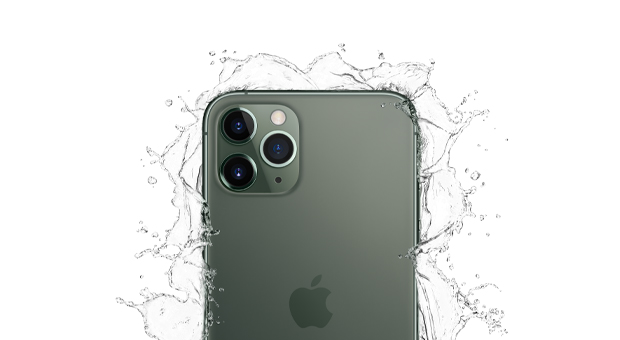 iPhone 11 Pro Water-resistant