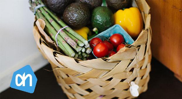 groceries basket albert heijn geld besparen met je smartphone