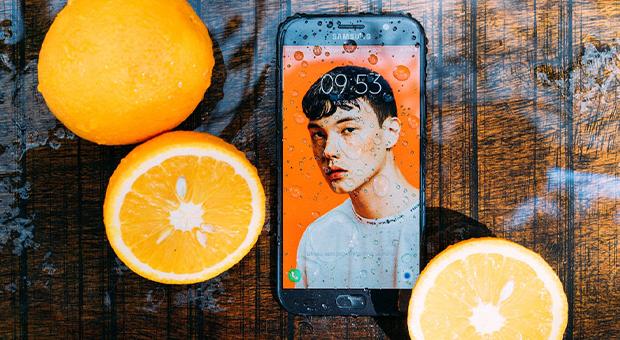 waterdicht smartphone tips druppels citroen